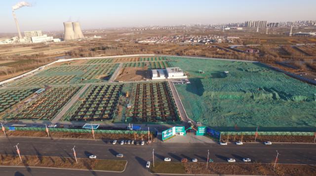 建设中的中关村丰台科技园沧州协同示范