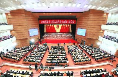 北京市十五届人大三次会议